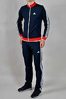 Спортивный костюм Adidas, ченый костюм, с лампасами, ф342