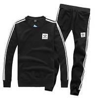 Спортивный костюм Adidas, ченый костюм, с лампасами, ф2931