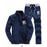 Спортивный костюм NF, темно-синий костюм, ф2991