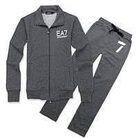 Спортивный костюм Armani, серый костюм, ф3005