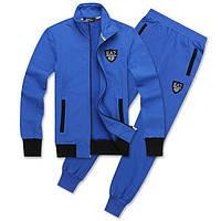 Спортивный костюм Armani, голубой костюм, ф3008