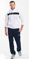 Спортивный костюм Asics, белый верх, черный низ, ф3026