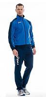 Спортивный костюм Asics, синяя кофта, темно-синие штаны, ф3029