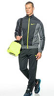 Спортивный костюм Nike темно-серый эластик, ф3063