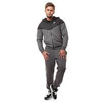 Спортивный костюм найк, темно-серый, для тренеровок, ф3070