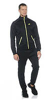Спортивный костюм Nike черный, со змейкой, ф3072