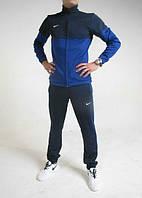 Спортивный костюм найк, синий, ф3129