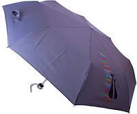 Зонт AIRTON 3512-2041 серый, механика, 3 сложения