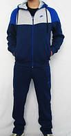 Спортивный костюм Nike, темно-синий, с белой вставкой, ф3145