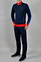 Спортивный костюм Nike, темно-синий, с красной вставкой, ф3142