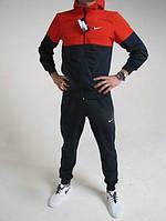 Спортивный костюм Nike, черный низ, красный верх, ф3151