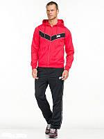Спортивный костюм Nike, красный с черными штанами, ф3158