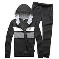 Спортивный костюм Nike, черный с капюшоном, ф3180