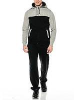 Спортивный костюм Nike, черный цвет, серые рукава, ф3191