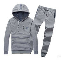 Спортивный костюм Adidas, серый кенгуру, ф3272