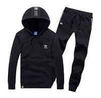 Спортивный костюм Adidas, черный кенгуру, ф3281