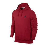 Спортивный костюм Jordan, красная кофта и черные штаны, ф3308