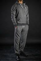 Спортивный костюм найк темно-серый кенгуру, ф4459