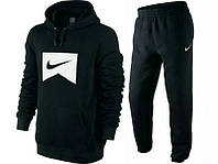 Спортивный костюм Nike, черный цвет, индонезия, логотип вышит, ф3399
