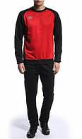 Спортивный костюм Umbro, красное туловище, темно-синие рукава и штаны, ф3441