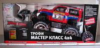 Радиоуправляемая машина Джип Трофи Мастер Класс 6568-318/9002 Красная