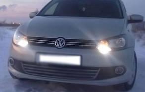 Накладки на решётку радиатора VW Polo HB (2009+)