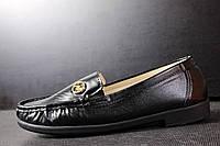 Туфли чёрные стильные