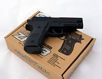 Пистолет железный  ZM 23 на пульках
