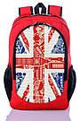 Рюкзак школьный, городской с принтом Британский Флаг., фото 2