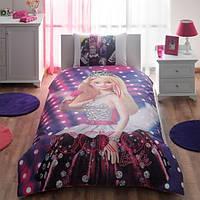 Детское постельное бельё ТАС Barbie Rock N Royal