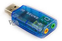 USB внешняя звуковая карта 3D Sound Card, фото 1