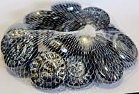 Декоративный стеклянный камень, солнышки