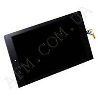 Дисплей (LCD) Lenovo B6000 Yoga Tablet с сенсором черный