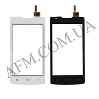 Сенсор (Touch screen) Lenovo A1000 IdeaPhone белый