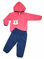 Трикотажный спортивный костюм Тигра (девочка), двунитка