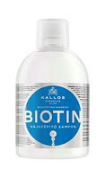 Шампунь Kallos Biotin для улучшения роста волос, 1000 мл