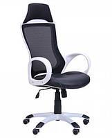 Кресло Viper белый, сиденье Неаполь N-20/спинка Сетка черная