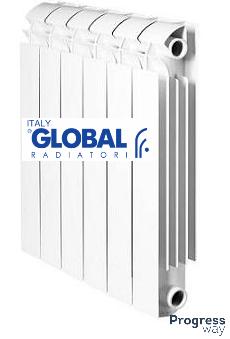 Алюминиевый радиатор 500х100 Global Vox Италия