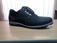 Туфли осенние мужские кожаные