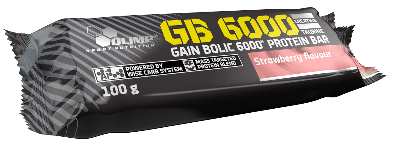 Olimp Gain Bolic 6000 Protein bar 12x100g