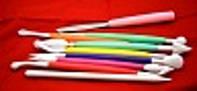 Набор кондитерских ножиков - стеков для мастики Empire ЕМ 8633, 10 штук