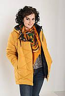 Зимняя теплая куртка-парка свободного силуэта Пуховик Большие размеры