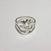 Серебряное кольцо Ом, фото 1