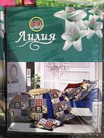 Комплект постельного белья с HD эффектом Лилия Евро