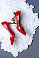 Красные лаковые туфельки 36