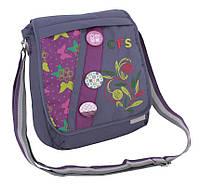 """Школьная сумка через плечо, вертикальна """"Inspiration"""" Cool for school CF85403 фиолетовый"""