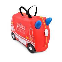 Детский чемоданчик на колёсиках Trunki Frank Fire Truck Пожарная машина Френк (TRU-0254)