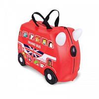 Детский чемоданчик на колёсиках Trunki Bus Автобус (TRU-0186)