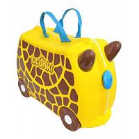 Детский чемоданчик на колёсиках Trunki Gerry Жираф Джери (TRU-0265)