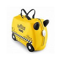 Детский чемоданчик на колёсиках Trunki Tony Taxi Такси Тони (TRU-0263)